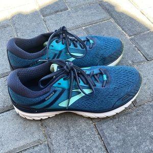 Brooks GTS 18 sneaker blue size 10